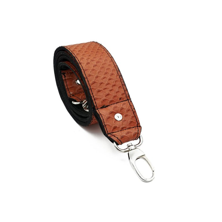 Bagstrap red croco