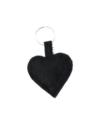 Keychain black croco