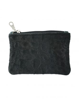 Wallet black croco