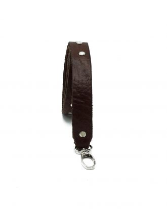 Bagstrap brown studs thin