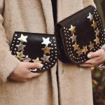 brown bag with stars