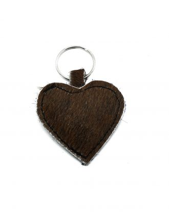 Brown keychain