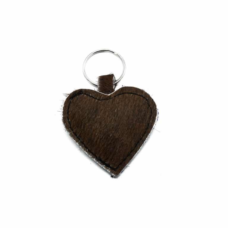 Brown keychain